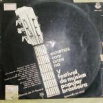 V Festival da Música Popular Brasileira/Gravado Ao Vivo (1969)