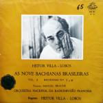 Villa-Lobos e Orquestra Nacional da Radiodifusão Francesa Vol 2 (1965)