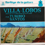Douze Etudes Pour Guitare Par Turíbio Santos (1975)