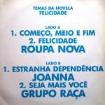 """Temas da Novela """"Felicidade"""" – MIX (1991)"""