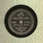 Banda do Corpo de Bombeiros do Rio de Janeiro – 78 RPM