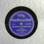 Conjunto Orquestral – 78 RPM