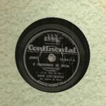 Coro Continental e Alberto W. Ream – 78 RPM