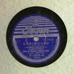 Dalva de Oliveira e Roberto Inglez – 78 RPM