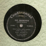 Duo Guarujá – 78 RPM