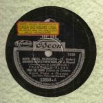 Francisco Alves e Trio de Ouro – 78 RPM