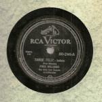 Fred Williams – 78 RPM