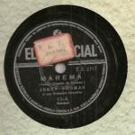 Jerry Thomas – 78 RPM