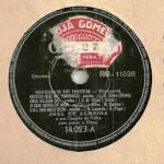 Joel de Almeida – 78 RPM