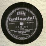 Jorge Goulart, Trio Madrigal e Trio Melodia – 78 RPM