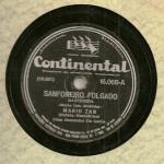 Mário Zan e Manoel Inocêncio – 78 RPM