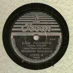 Trigêmeos Vocalistas – 78 RPM