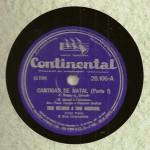 Trio Melodia e Trio Madrigal – 78 RPM